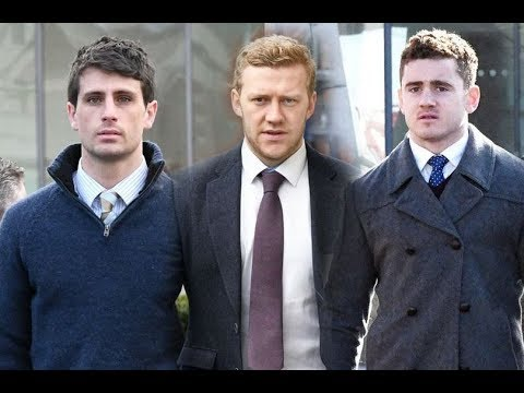 Rugby rape trial defendants Paddy Jackson, Stuart Olding, Rory Harrison and Blane McIlroy f