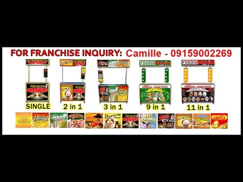 LEVY'S FOOD CART ENTERPRISES - FOR AS LOW AS 17,500php COMPLETE AND READY TO OPERATE! 09159002269