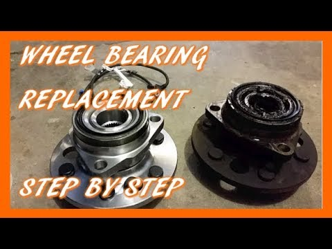 How To Replace Front Wheel Bearing & Hub in 92-98 Silverado & Sierra