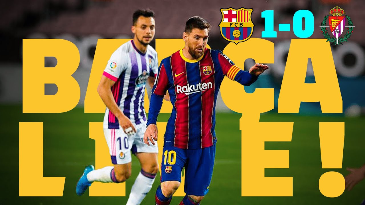 ⚽ LATE GOAL FOR A HUGE WIN!!! BARÇA LIVE | BARÇA 1 - 0 VALLADOLID | Warm up & Match Center