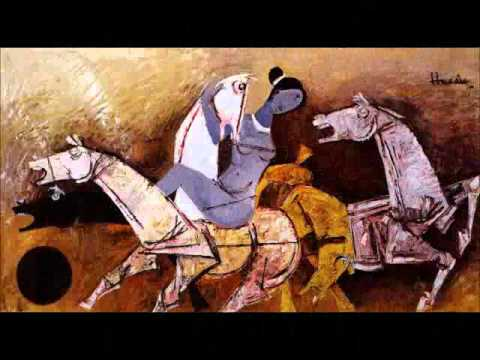 MF Hussain - Hoarding painter, Picasso of India, Expatriate
