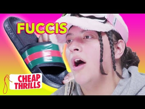 D.I.Y. Gucci Flip Flops | Cheap Thrills