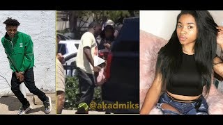 NBA Youngboy gets shot at in Miami & his Girlfriend gets hit. His Security Guard Then Kills the OPP