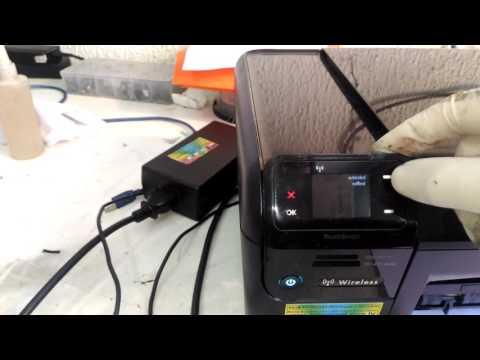 Reset HP Photosmart C4780