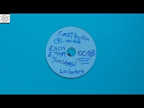 Burning My First 100GB BD-R XL Blu-ray Disc!