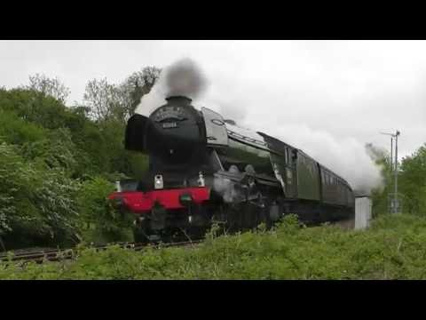 The Flying Scotsman - Cathedrals Express & Hampshire Cream Tea tours - 21st & 28th May 2016