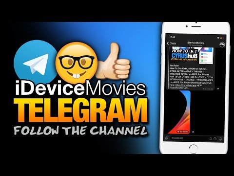 iDeviceMovies On TELEGRAM! FOLLOW For VIDEOS - WALLPAPERS - UPDATES And MORE!