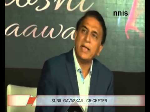 Sunil Gavaskar Launches Pankaj Udhas' New Music Album