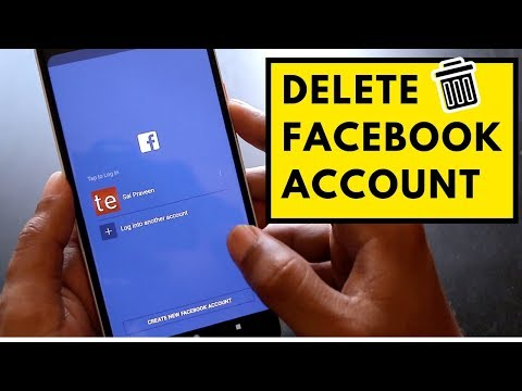 Steps To Delete Facebook Account Permanently Using PC/Smartphone