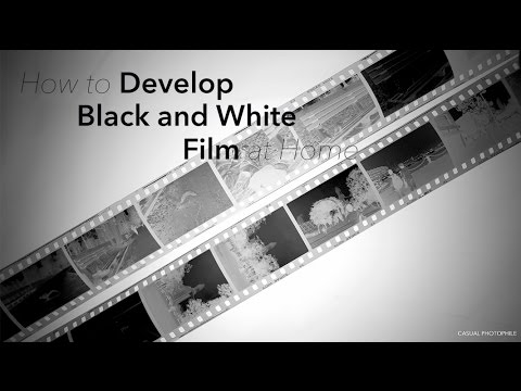 How To Develop Black and White Film at Home