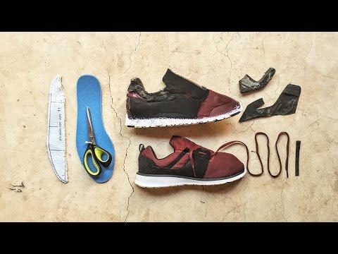 Making our own shoe? - Step1: DE-CONSTRUCTION