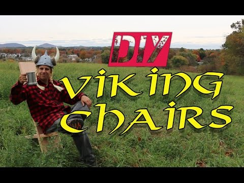 How to make a viking chair - with hand tools