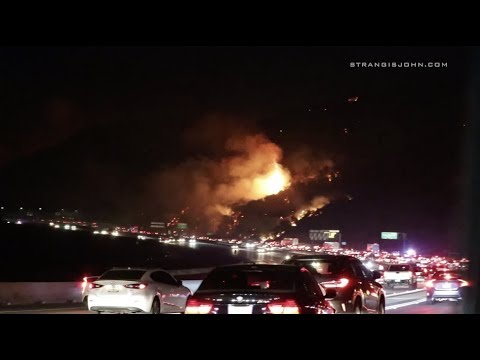 Corona: Canyon Brush Fire