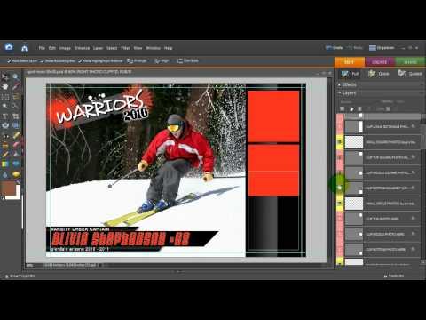 Quick Poster Vol 8 Photoshop Elements Tutorial Part 1