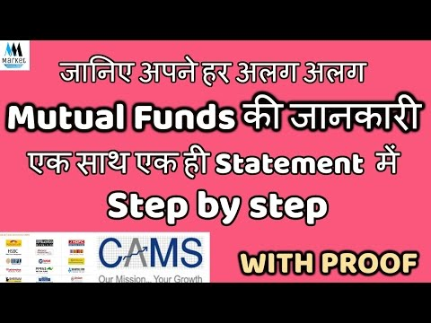 Consolidated MF Account Statement | Get details of all your various (MF) in one place with Proof