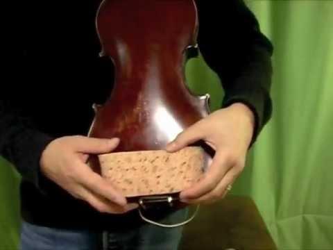 how to make a violin shoulder rest