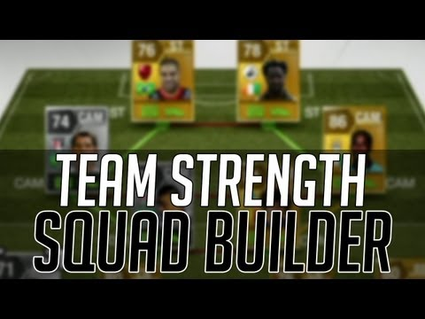 THE STRONGEST AFFORDABLE HYBRID SQUAD w/ 99 CHEMISTRY | FIFA 13 Ultimate Team Squad Builder