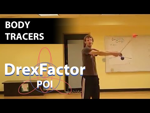 Intermediate Poi Dancing Tutorial: Body Tracers