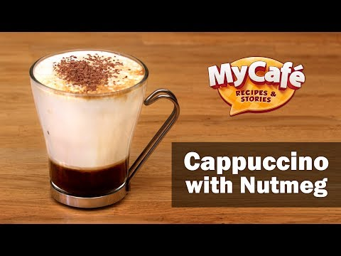 Cappuccino Recipe with Nutmeg Ice and Chocolate from My Cafe and JS Barista Training Center