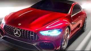 Mercedes AMG GT Hybrid EQ Power+ Video World Premiere New Mercedes AMG CLS 2018 CARJAM TV