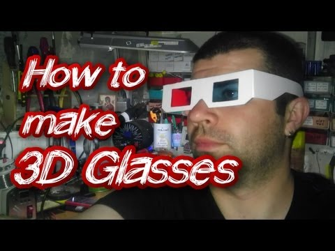 How to Make 3D Glasses