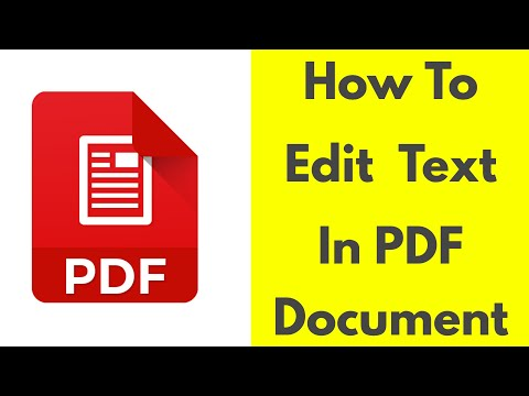 How to edit PDF Files in Android mobile phone|Tablet