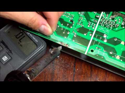 HOW TO FIX CRACK CIRCUIT BOARD- Soldering TECH Tips 11