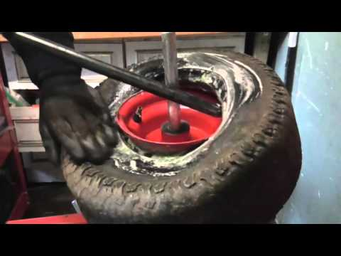 How to Change Lawn Tractor Tires Tyres the Easy Way