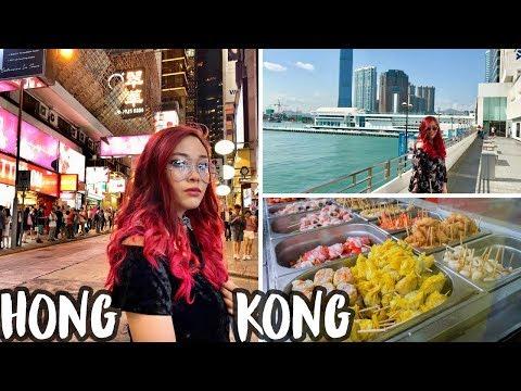 Hong Kong | Street Food, Nightlife, Sneaker Street, Disneyland + more! | Travel VLOG