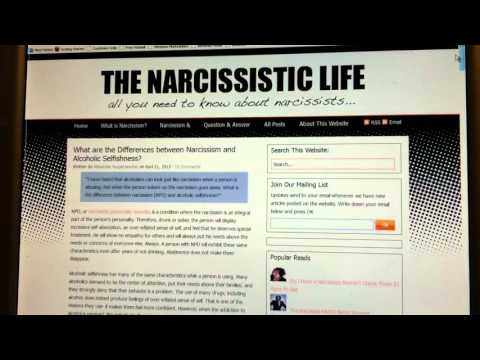 Narcissistic Personality Disorder and Alcoholism