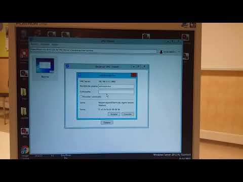 VNC Viewer Windows 7 - Server