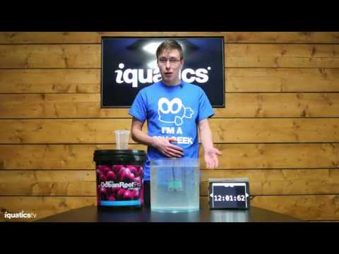 iQuatics Ocean Reef Pro Coral Salt - Fast dissolving formula put to the test.