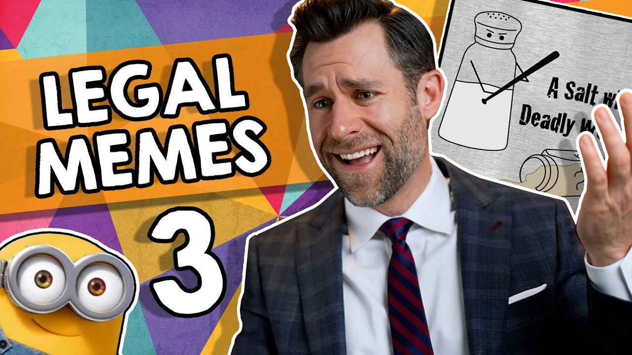 Lawyer Reacts to Quirky Legal Memes!