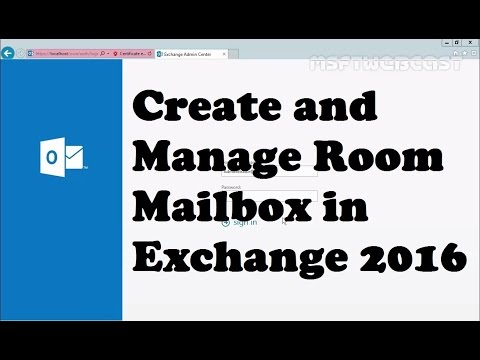Managing Room Mailbox in Exchange Server 2016