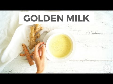 How To Make Golden Milk + Health Benefits Of Turmeric   Healthy Grocery Girl