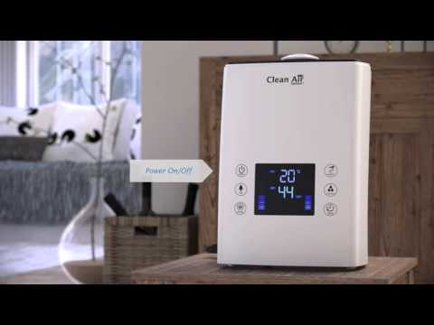 Humidifier with Ionizer Clean Air Optima CA-606