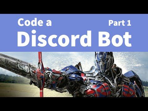 Easily Code a Discord Bot: Part 1 - Setting Up - PakVim net