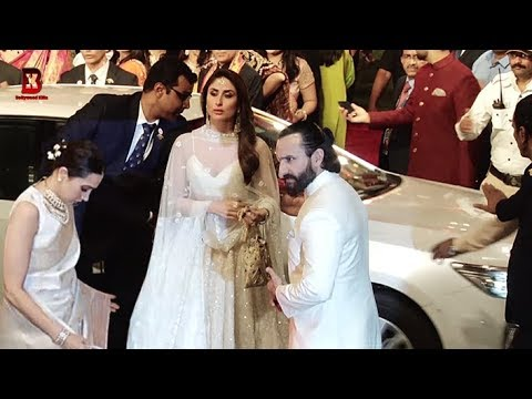 Xxx Mp4 Karishma Kapoor Kareena Kapoor Saif Ali Khan Arrives At Isha Ambani 39 S Wedding Reception 3gp Sex