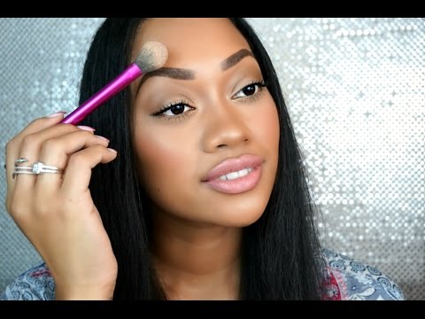 HOW TO STOP EYEBROWS FROM GETTING OILY BEAUTY HACK!!! | Jamielle Laura