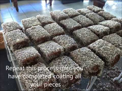 How To Make Lamingtons