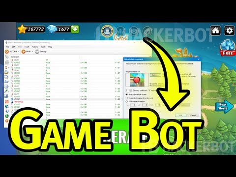 How To Create / Make a Game Bot (Tutorial) No Coding!