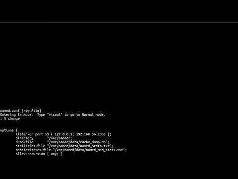 Configure DNS server on CentOS 7 for a private LAN network