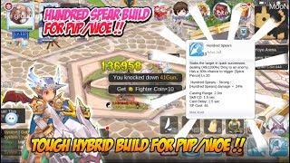 Ragnarok M Eternal Love : Rune knight hundred spear build