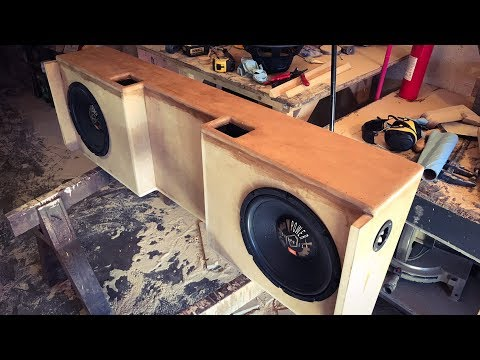 custom made subwoofer box part 1