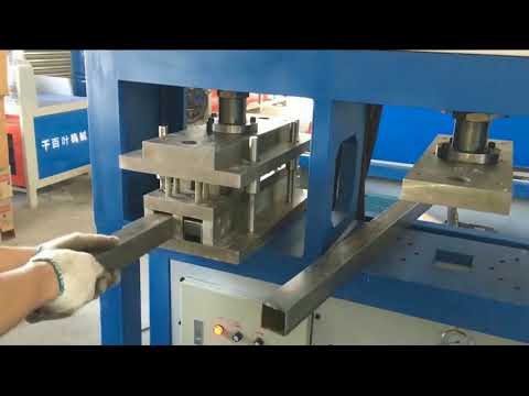 45 degree Hydraulic Cutting for Square alloy tube
