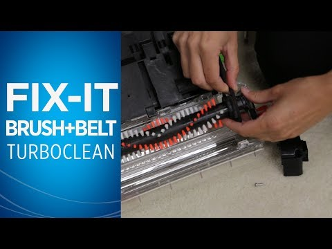 How to maintain the brush roll and belt on your TurboClean™