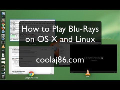 Play Blu-Rays on Mac OS X (and Ubuntu Linux) with Blu-Play
