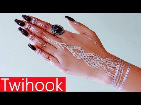 DIY Metallic Flash Tattoo using Nail Polish Smudgeproof,Waterproof,Long Lasting Art by Priyanka