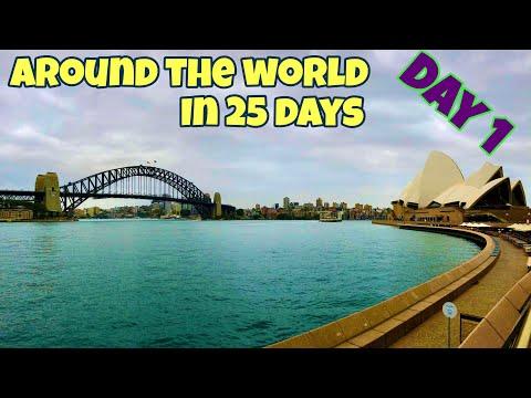 Around The World Vlog 1 Toronto To Sydney