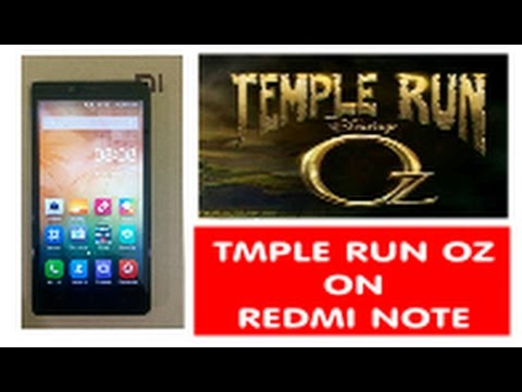 Temple Run OZ Gameplay on Redmi Note